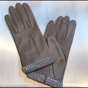Neiman Marcus Italian Leather Gloves